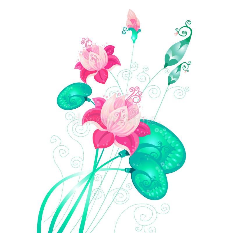 lotuses 图库摄影