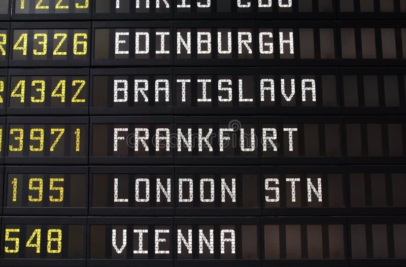 Loty w Europa obraz stock