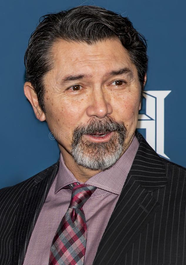 Lou Diamond Phillips  at the Variety 3rd Annual Salute to Service royalty free stock images