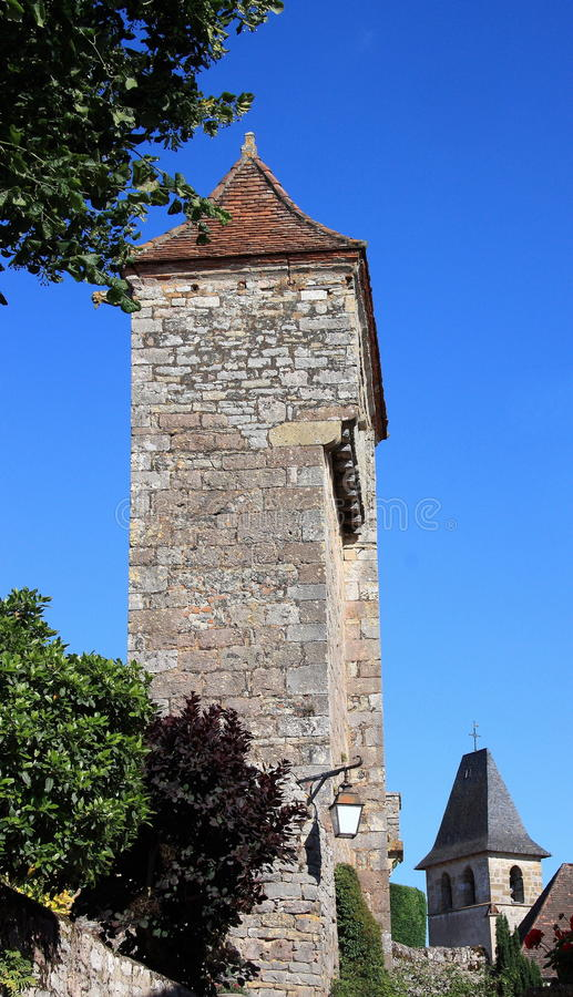 Download Loubressac Architecture stock image. Image of historical - 10255785