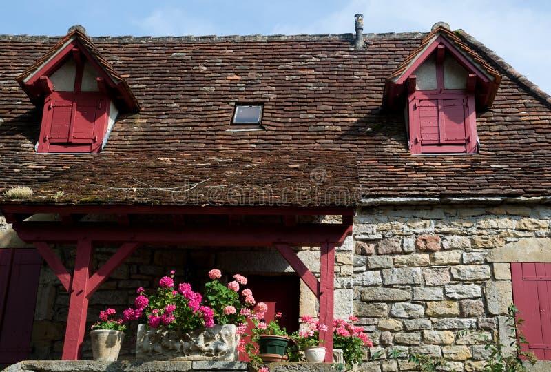 Loubressac, Francia fotos de archivo libres de regalías