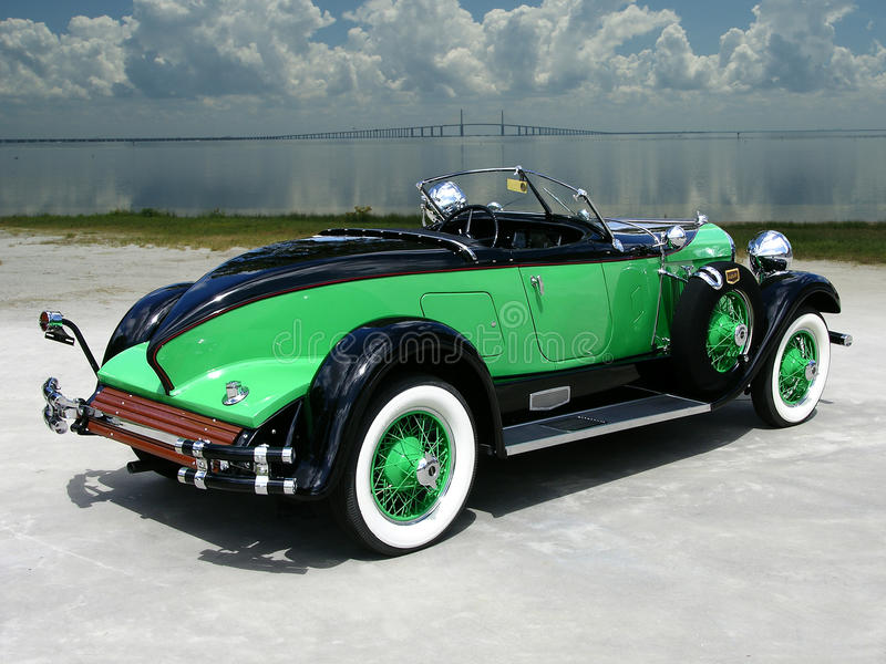 Louco do volante castanho-aloirado da popa 1929 8-90 imagens de stock royalty free