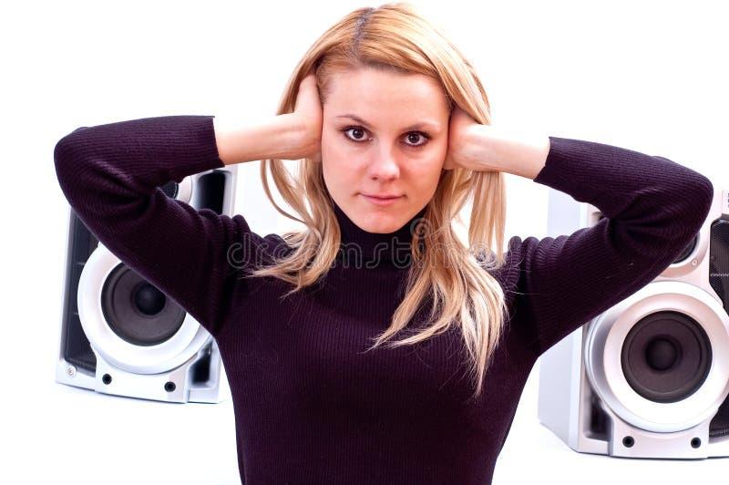 Loud music royalty free stock photos