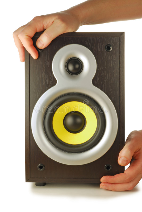 Download Loud speaker stock image. Image of entertainment, public - 7666637