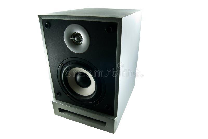 Loudspeaker. Isolated on white background royalty free stock photography