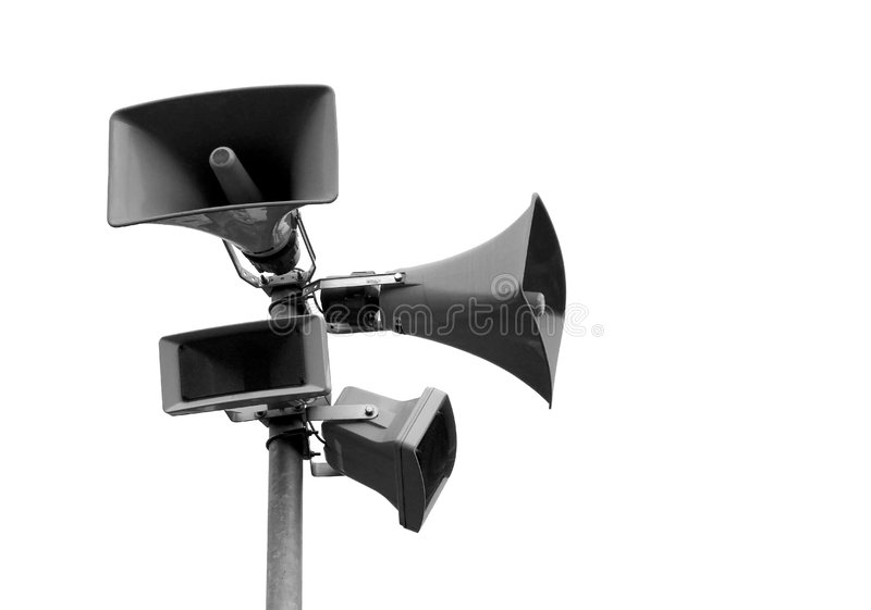 Loudspeaker royalty free stock images