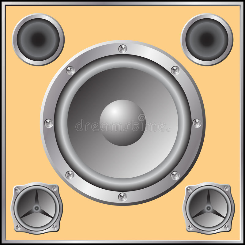 Loudspeaker Royalty Free Stock Photos