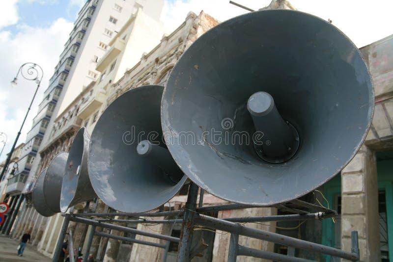 Loudspeaker royalty free stock photo