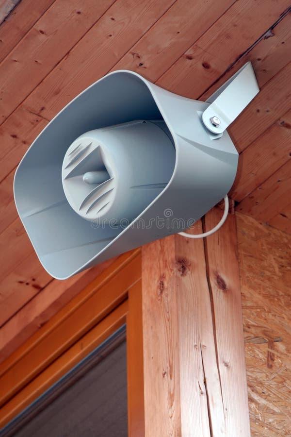 Loudspeaker - amplifier royalty free stock photo