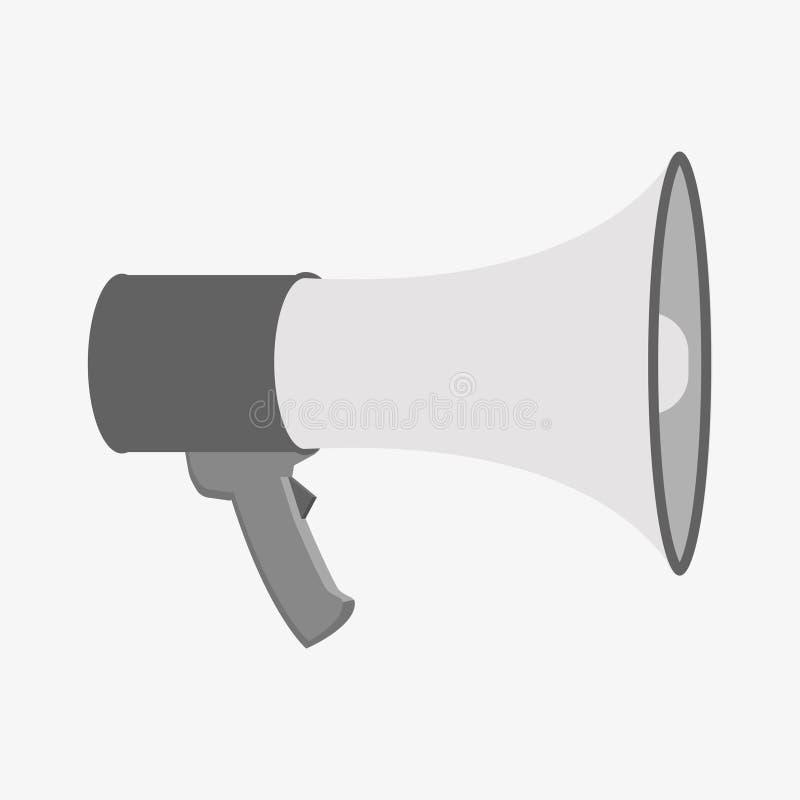 Loudspeaker Icon. Megaphone Sign. Announcement Symbol Stock ...