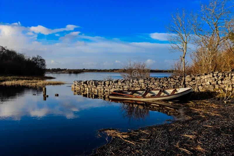 Lough Carra immagine stock