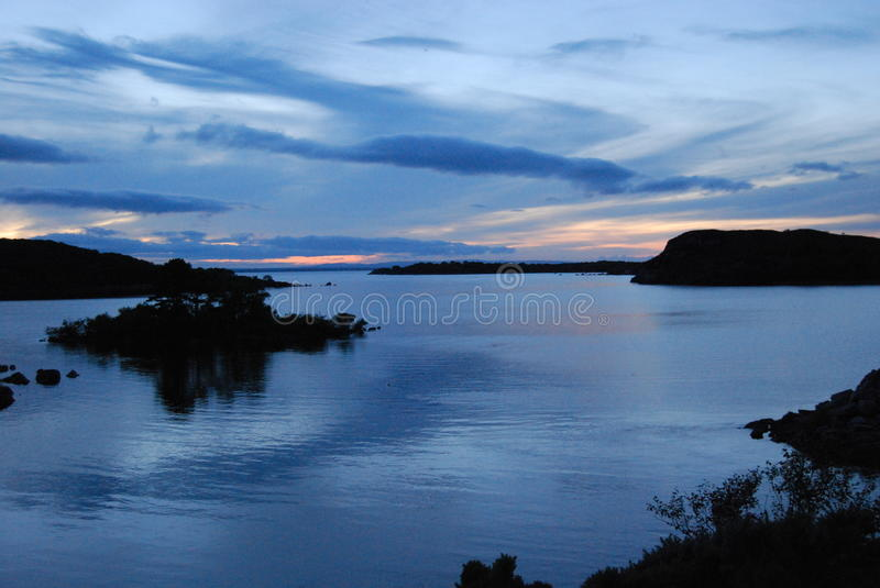 Lough Conn stock image