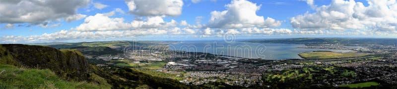 Lough de Belfast - Irlanda do Norte fotos de stock royalty free