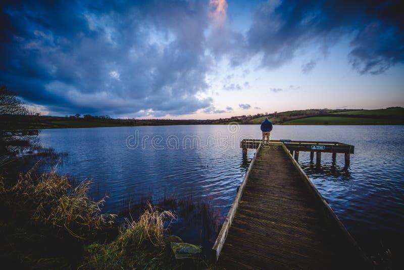 Lough de Corbet, Co Para baixo, N ireland fotografia de stock royalty free