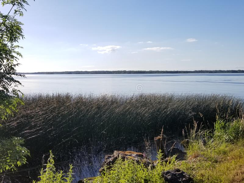 Lough Derg in contea Tipperary, Irlanda a giugno immagine stock