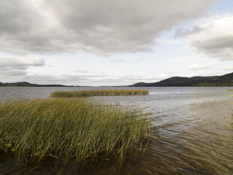 Lough Derg in County Clare royalty free stock photo