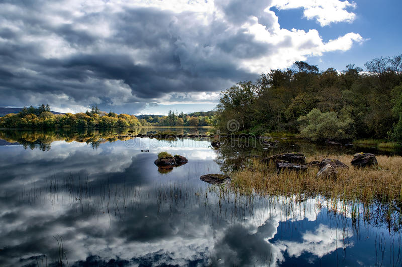 Lough Eske, Co. Donegal, Ireland stock images
