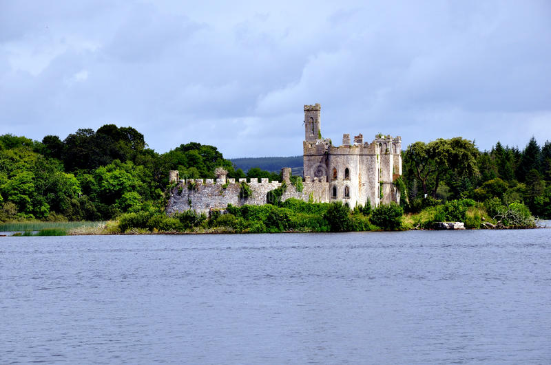 Lough Key, Ireland stock image
