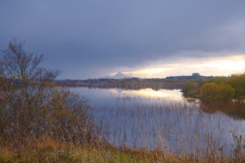 Lough Lannagh fotografia stock