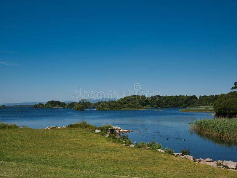 Lough Leane Lake in Killarney National Park royalty free stock image