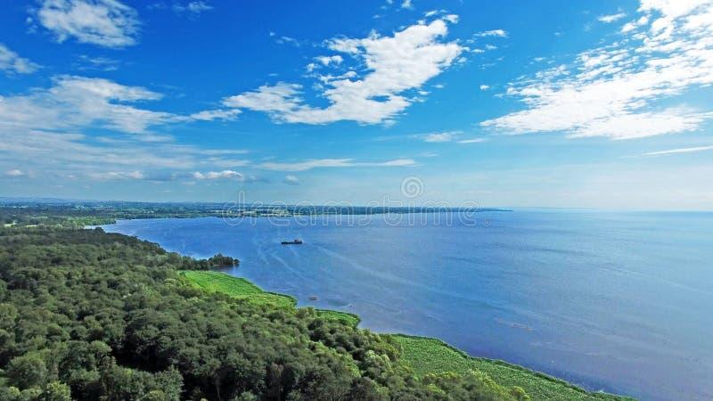 Lough Neagh co Antrim fotografie stock