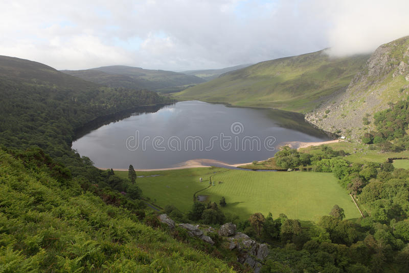 Download Lough tay, Wicklow ireland stock photo. Image of mountains - 9796006