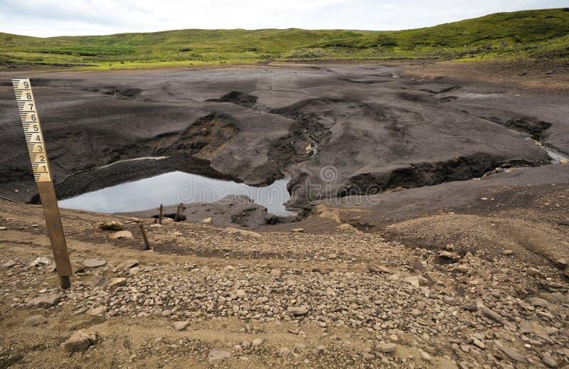 Loughareema, η λίμνη που εξαφανίζεται τυχαία, κομητεία Antrim, Βόρεια Ιρλανδία στοκ εικόνες με δικαίωμα ελεύθερης χρήσης