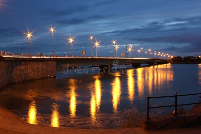 Loughorbrug stock afbeeldingen