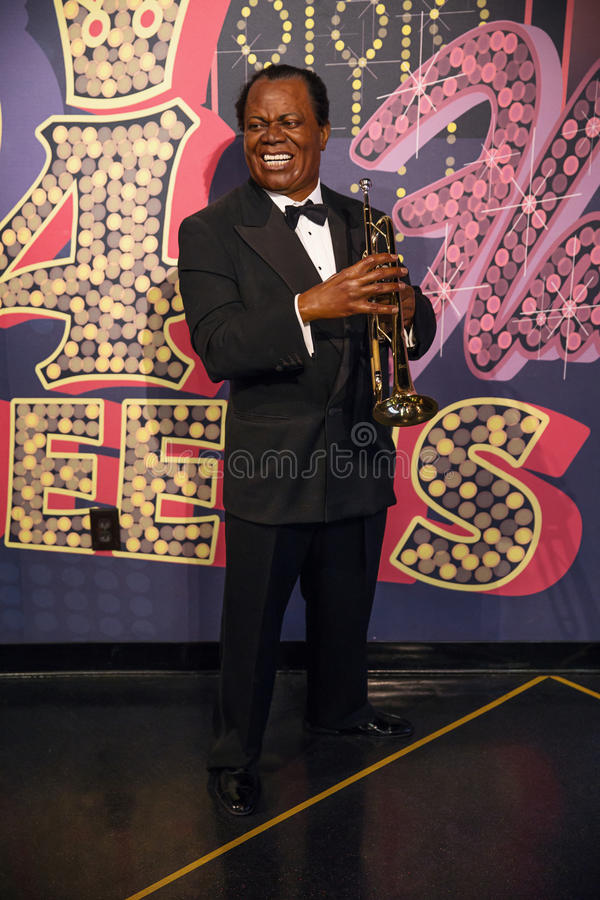 Louis Armstrong royalty free stock photography