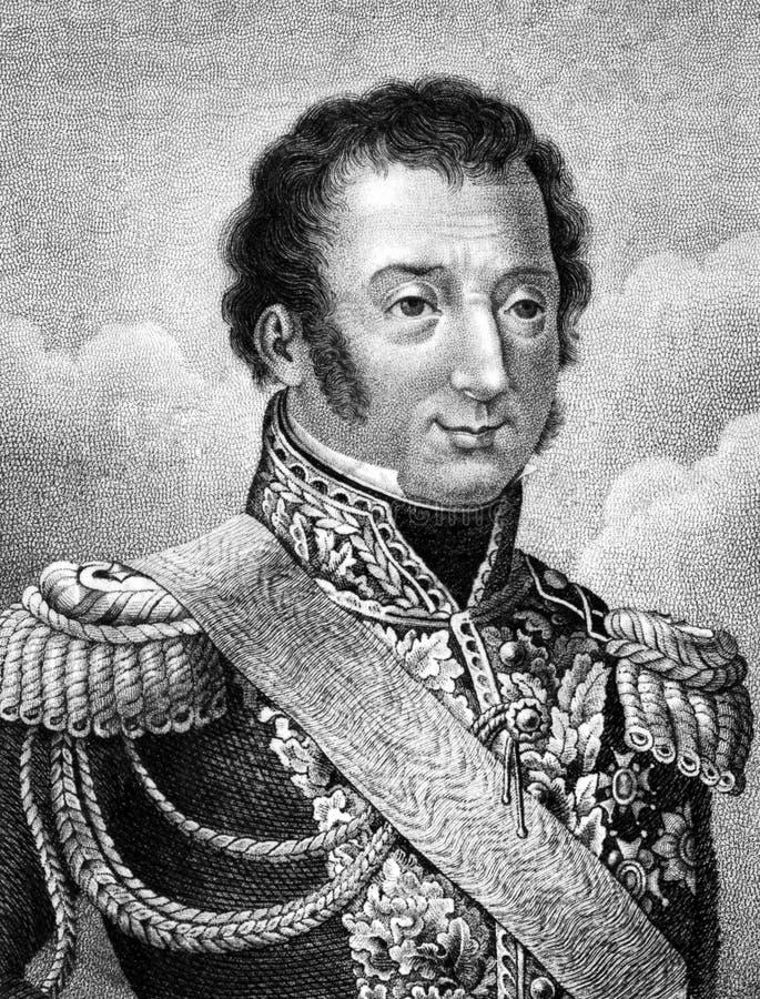 Louis-Auguste-Victor royaltyfri illustrationer