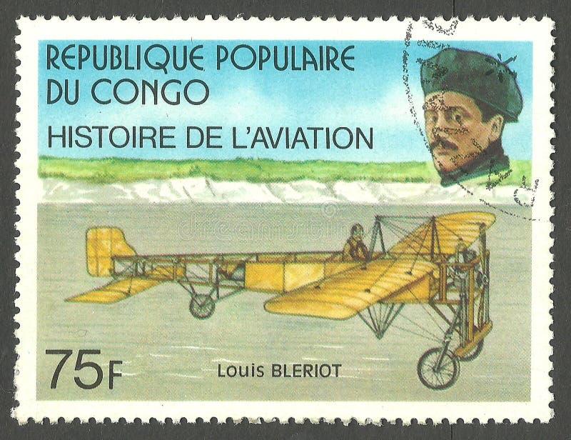 Louis Bleriot stockfotografie