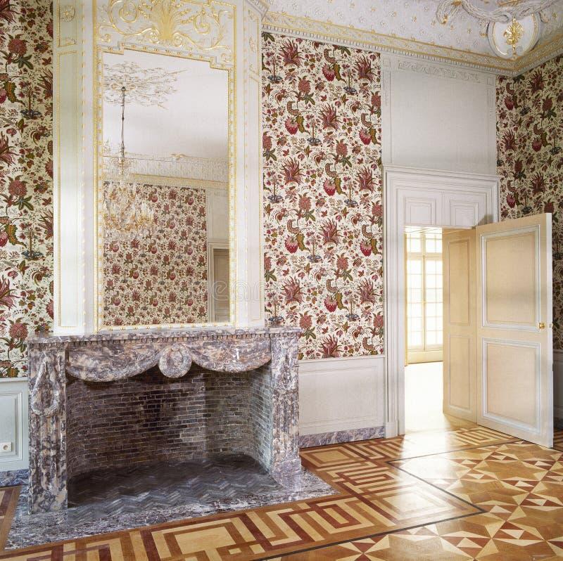 Louis de lujo XVI labró el interior imágenes de archivo libres de regalías