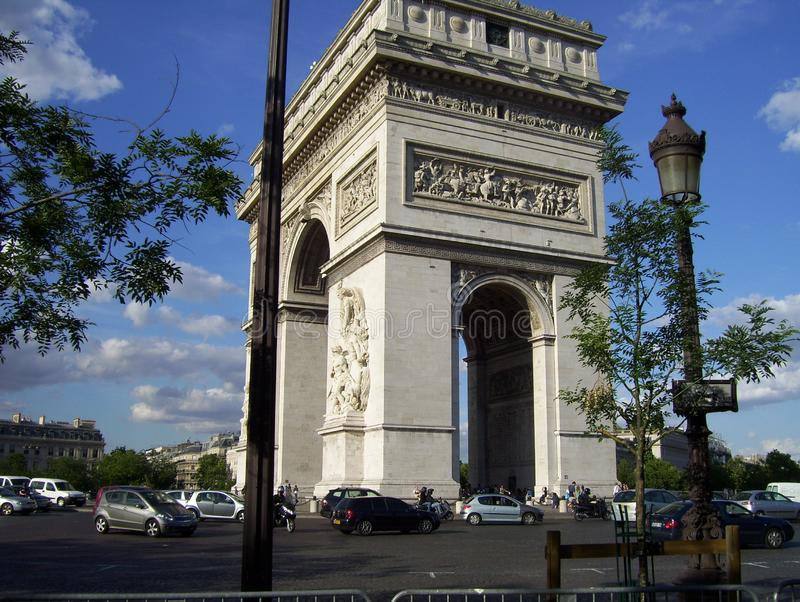 Louis-Ernest Lheureux Monument alla gloria della rivoluzione francese fotografia stock