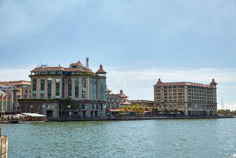 louis mauritius port royaltyfria foton