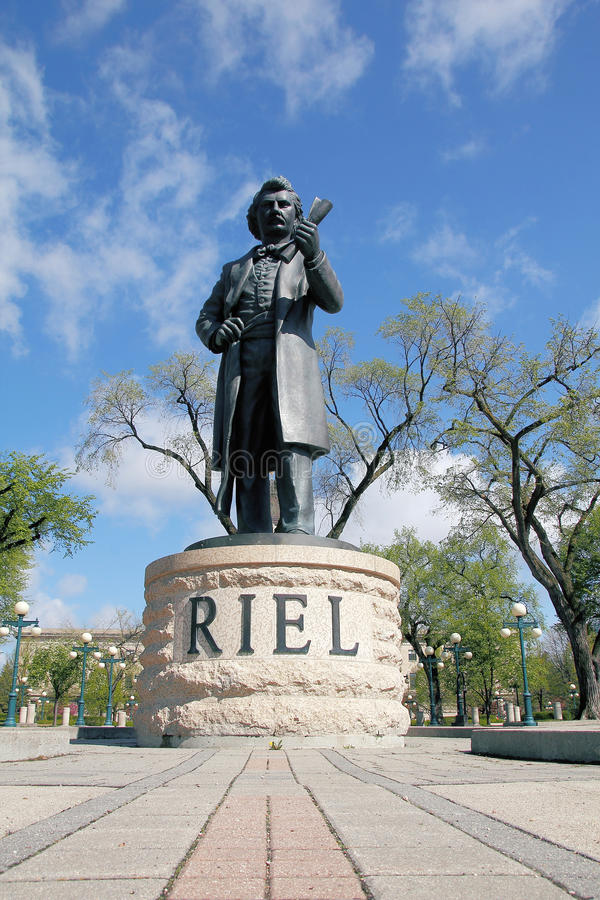 Free Louis Riel Sculpture Stock Photo - 54490280