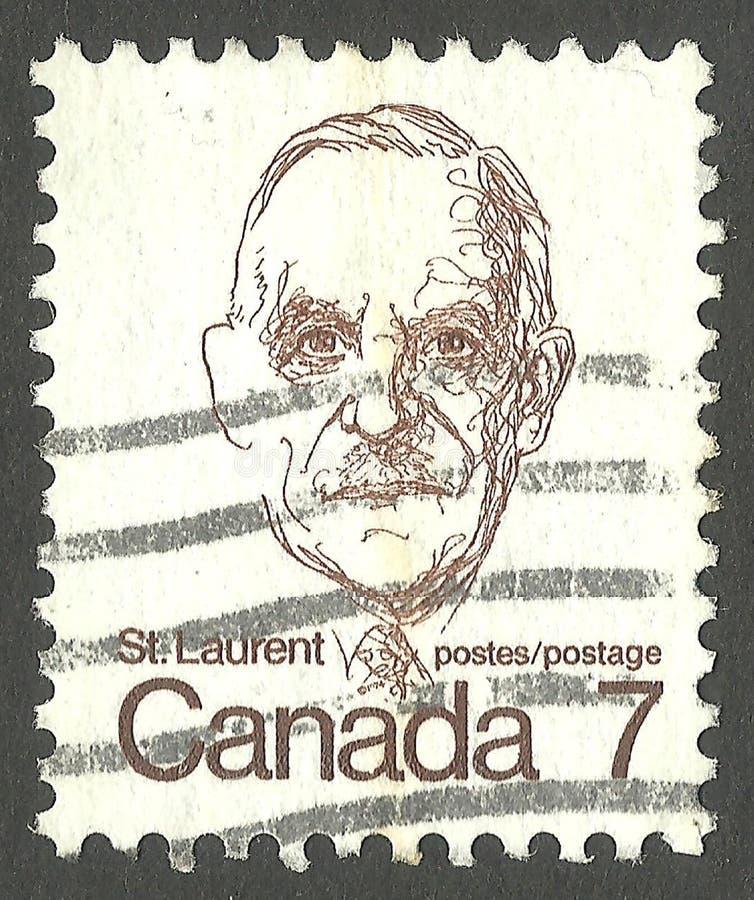 Louis St Laurent illustration libre de droits
