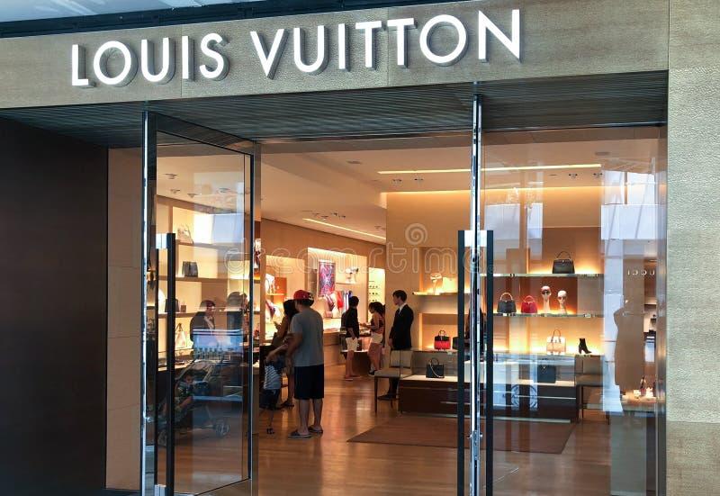 Louis Vuitton imágenes de archivo libres de regalías