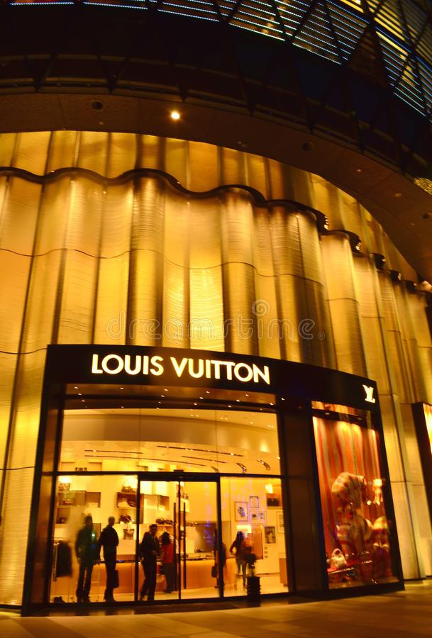 Louis Vuitton enregistrent images libres de droits