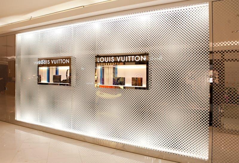 Louis Vuitton enregistrent photographie stock libre de droits