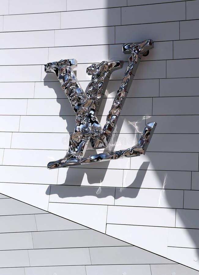 Louis Vuitton Foundation Paris stock foto's