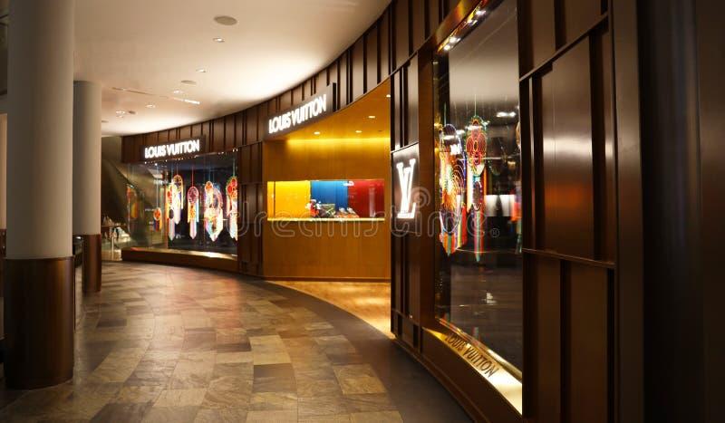 Louis Vuitton imagen de archivo libre de regalías
