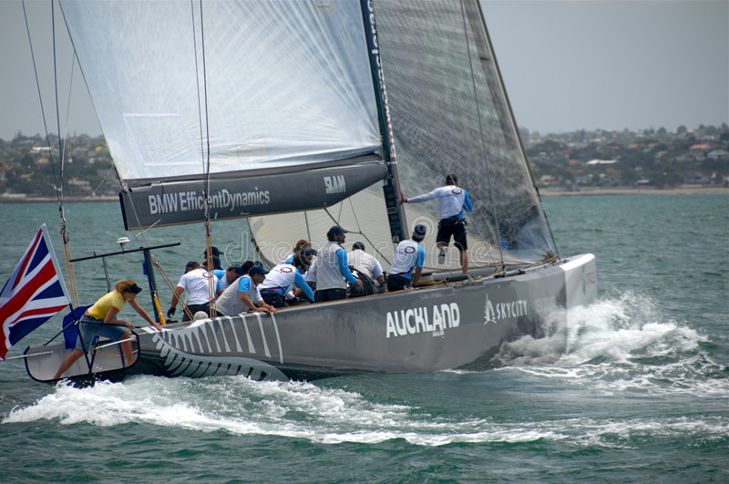 Louis Vuitton Match Racing Pacific Series 5 4 royalty free stock photography