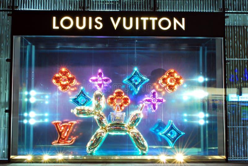 Louis Vuitton salva fotos de archivo