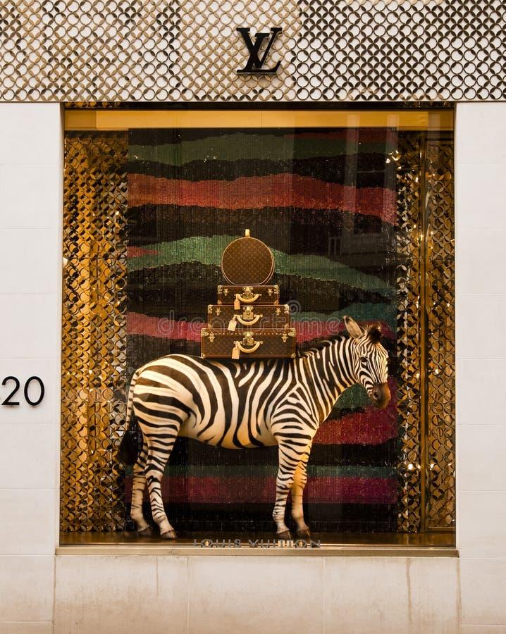 Louis Vuitton salva fotografía de archivo