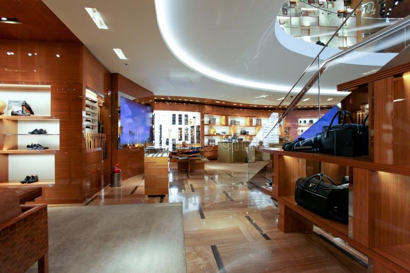 Louis Vuitton som beklär lagret i Rome arkivfoto