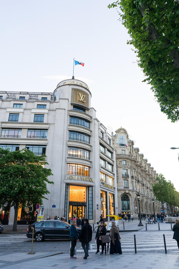Louis Vuitton speichern stockfoto