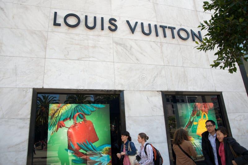 Louis Vuitton Store Editorial Photo