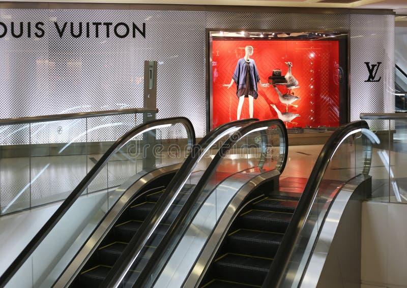 Louis Vuitton Store foto de archivo