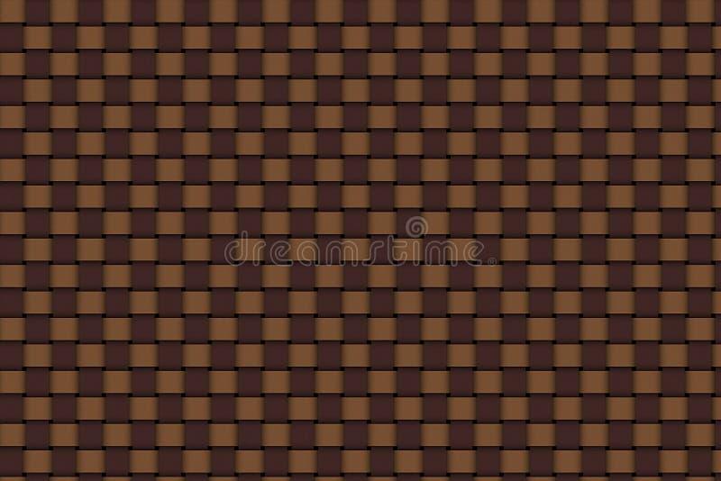 Louis Vuitton tesse la struttura illustrazione vettoriale