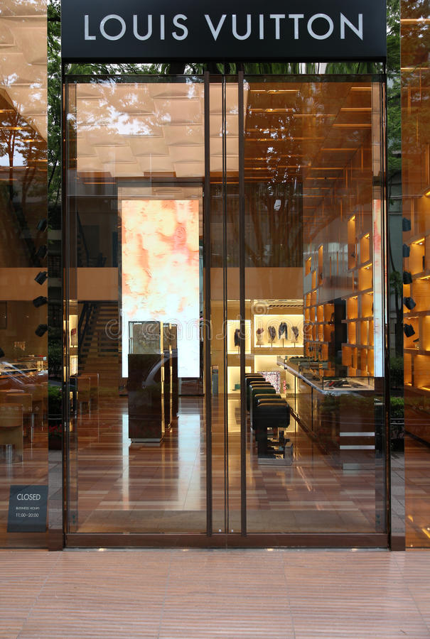 Louis Vuitton, Tokio imagen de archivo